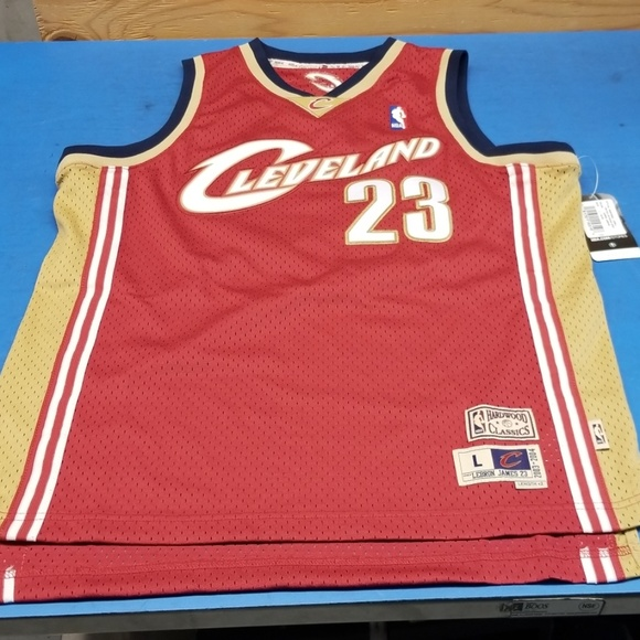 san francisco 6149a 6e6df Youth Large Rookie Lebron James Authentic Jersey NWT